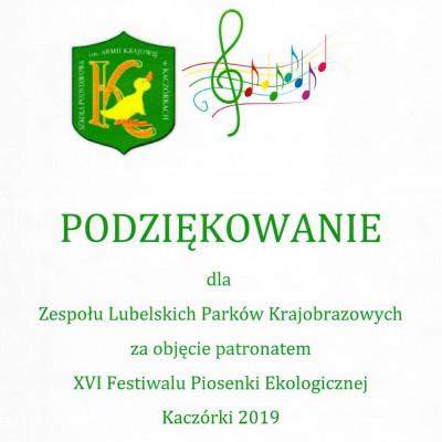 XVI Festiwal Piosenki Ekologicznej w Kaczórkach