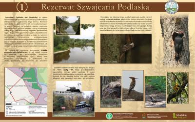 tablica 1 - Szwajcaria Podlaska