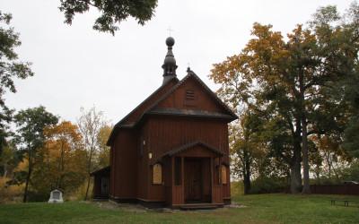 Kościół z 1683r. pw. św. Jerzego w Krzyczewie (dawna cerkiew)