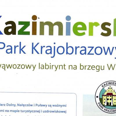 O Kazimierskim Parku Krajobrazowym w Eko i My