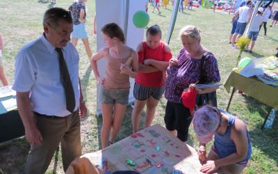 Konkurs plastyczny podczas Dożynek Gminnych w Dorohusku
