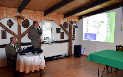 Prezentacja Marka Cieślaka z Zespołu Dolnośląskich Parków Krajobrazowych