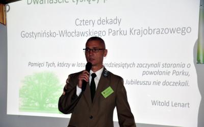 Wystapienie dra Gostynińsko-Włocławskiego Parku Krajobrazowego Witolda Kwapińskiego