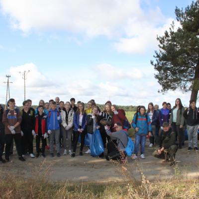 """Akcja #sprzątaMy na terenie Parku Krajobrazowego """"Podlaski Przełom Bugu"""""""
