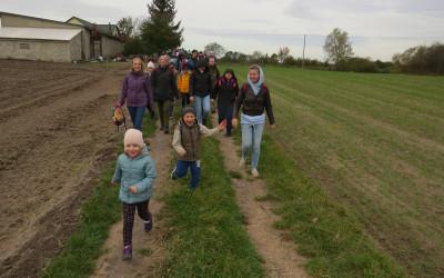 2. Najmłodsi uczestnicy narzucali tempo marszu
