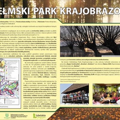 Zaproszenie do zwiedzania Chełmskiego Parku Krajobrazowego.