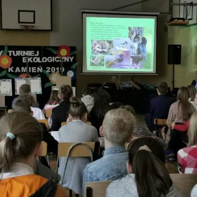 Ekologiczny Turniej Szkół w Gminie Kamień.