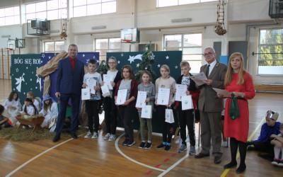 Nagrodzeni w kategorii uczniów kl. VI-VIII