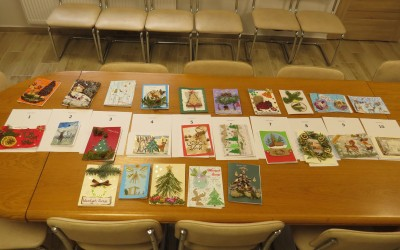 Kartki wybrane po wstępnej selekcji