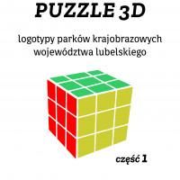 Puzzle kostka Zestaw 1