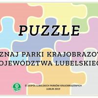 Pobierz: Puzzle Poznaj Parki Krajobrazowe Województwa Lubelskiego