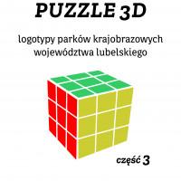 Puzzle kostka Zestaw 3