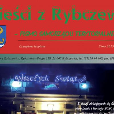 """O nowych tablicach ZLPK w """"Wieściach z Rybczewic"""""""
