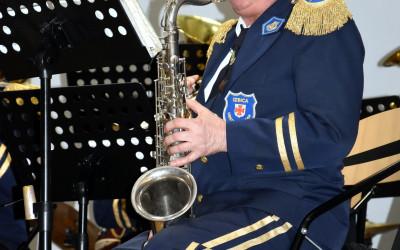 saksofonista orkiestry dętej