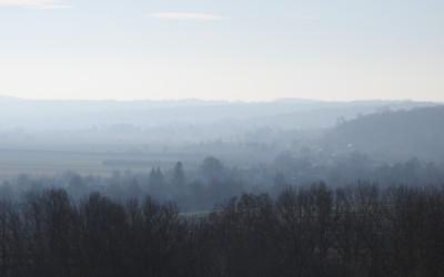 W dolinie Wieprza ścielą się mgły