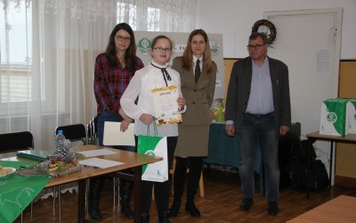 III miejsce indywidualnie - Augustyna Butkiewicz