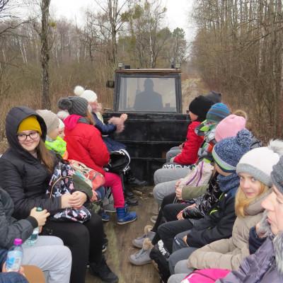 """""""Zimowym Tropem"""" przez Chełmski Park Krajobrazowy w wiosennym klimacie"""