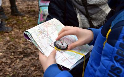 uczymy się posługiwać się kompasem