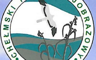 Stare logo Chełmskiego PK z sylwetką błotniaka łąkowego