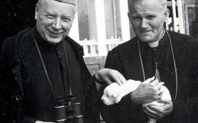 Kardynał Karol Wojtyła z kardynałem Stefanem Wyszyńskim