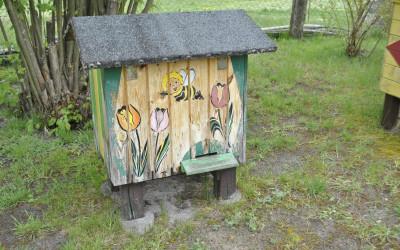 Pszczoły też lubią ładnie mieszkać!!!
