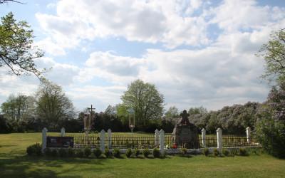 Cmentarz unicki- pierwotne miejsce pochówku Męczenników