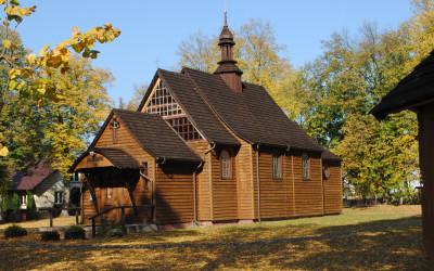 Kościół pw. św. Wojciecha w Momotach Górnych, fot. J. Kiszka ZLPK OZ w Janowie Lubelskim