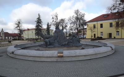 Rynek w Józefowie, fot. M. Grabek