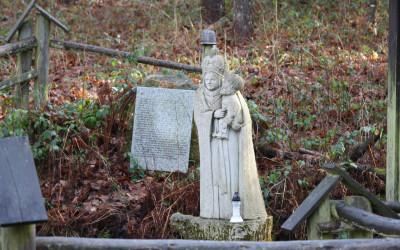 Matka Boża Sokalska przy źródłach Prutnika, fot. Archiwum ZLPK OZ w Zamościu