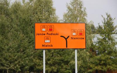 Drogowskaz, fot. Archiwum ZLPK OZ w Janowie Podlaskim