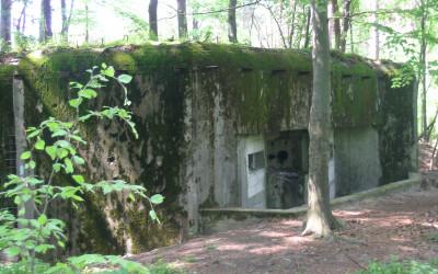 Jeden z bunkrów Linii Mołotowa (1), fot. K. Kowalczuk