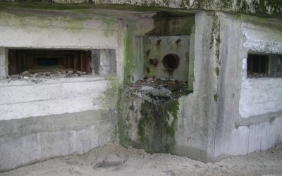 Jeden z bunkrów Linii Mołotowa (2), fot. K. Kowalczuk
