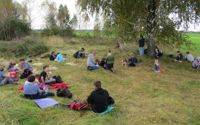 3. Odpoczynek na skraju Doliny Wełnianki