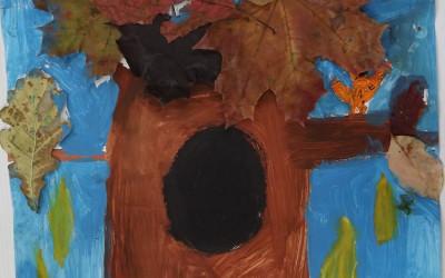 Drzewo na moim podwórku Lena Nizio SP Tereszpol Kukiełki