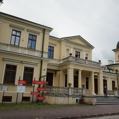 Wizyta w pałacu Jana Kleniewskiego w Kluczkowicach, na terenie Wrzelowieckiego Parku Krajobrazowego