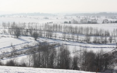 zima w Krasnobrodzkim Parku Krajobrazowym