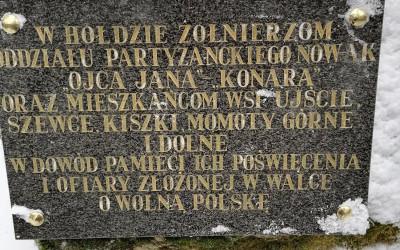 Tablica zamontowana w miejscu Dwudajówki